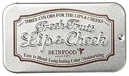 Parfumuri și produse cosmetice Balsam 2în1 pentru buze - Skinfood Fresh Fruit Lip & Cheek Trio