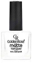 Parfumuri și produse cosmetice Матовое покрытие для ногтей - Golden Rose Matte Top Coat