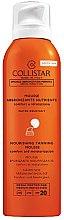 Parfumuri și produse cosmetice Spumă cu protecție solară pentru corp - Collistar Abbronzatura Senza Sole Mutriente SPF 20