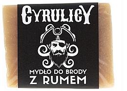 Parfumuri și produse cosmetice Săpun cu rom, de barbă  - Cyrulicy Rum Beard Soap