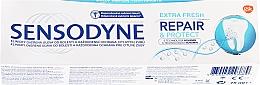 """Parfumuri și produse cosmetice Pastă de dinți """"Restaurare și protecție"""" - Sensodyne Repair&Protect Extra Fresh"""
