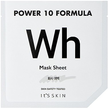 Mască de față - It's Skin Power 10 Formula Mask Sheet WH — Imagine N1