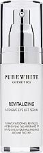 Parfumuri și produse cosmetice Ser cu efect de lifting pentru ochi - Pure White Cosmetics Revitalizing Intensive Eye Lift Serum