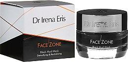 Parfumuri și produse cosmetice Mască de față - Dr Irena Eris Face Zone Black Mud Mask Detoxifying & Revitalising