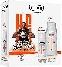 Parfumuri și produse cosmetice Set - STR8 (deo/spray/150ml + sh/gel/400ml)