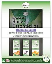 "Parfumuri și produse cosmetice Set de uleiuri esențiale ""Relax"" - Galeo To Help You Relax Gift Set (ess/oil/3x10ml)"