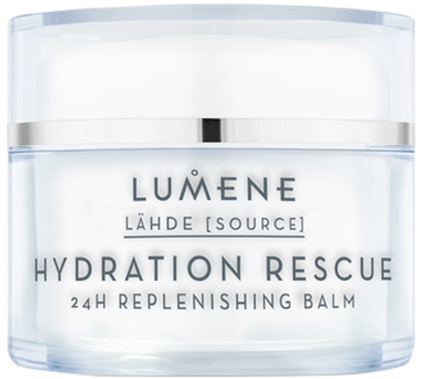 Balsam regenerator pentru față - Lumene Lahde Hydration Rescue 24H Nourishing Balm — Imagine N1