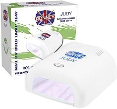 Духи, Парфюмерия, косметика Лампа для ногтей UV, белая - Ronney Profesional Judy UV 36W (GY-UV-230) Lamp