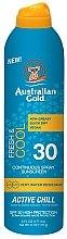 Parfumuri și produse cosmetice Spray revigorant cu protecție solară - Australian Gold Freash&Cool Continuous Spray Sunscreen SPF30
