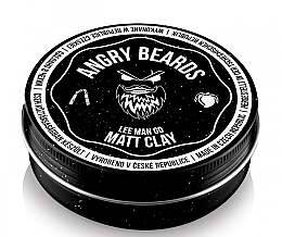 Parfumuri și produse cosmetice Argilă pentru păr - Angry Beards Lee Man Go Matt Clay