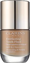 Parfumuri și produse cosmetice Fond de ten SPF 15 - Clarins Everlasting Youth Fluid