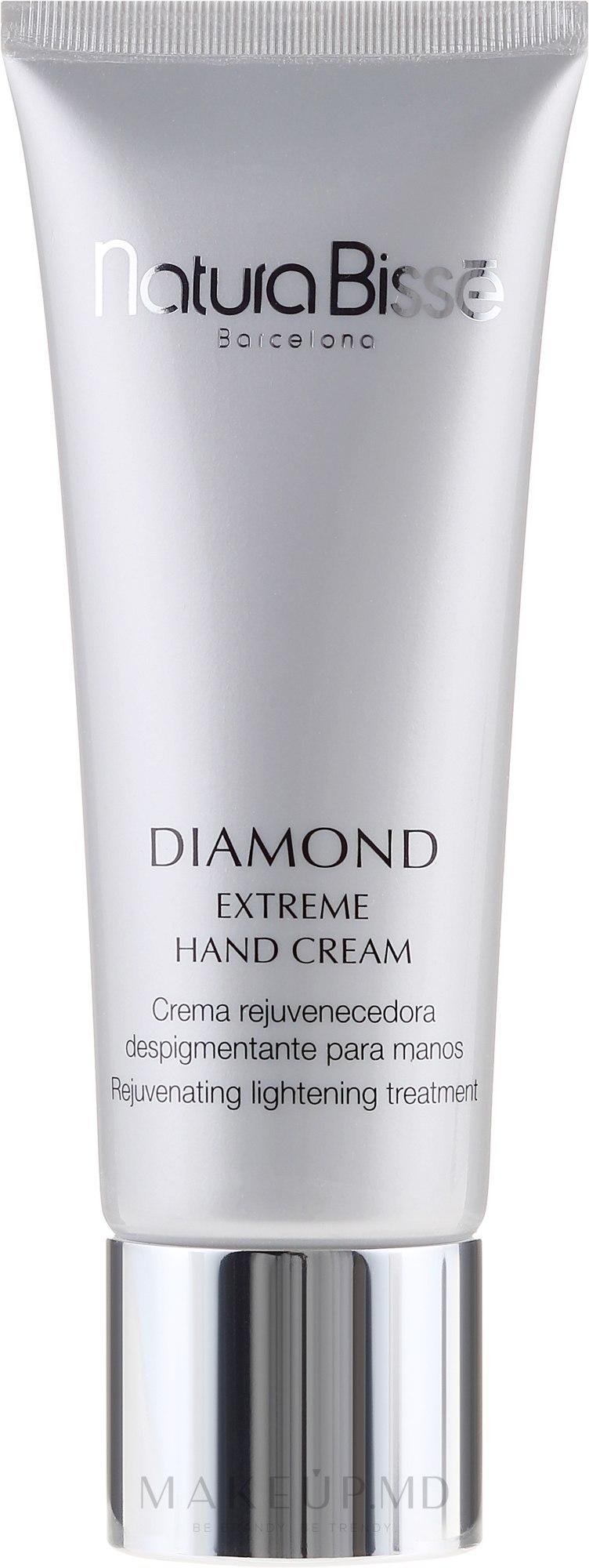Cremă de mâini - Natura Bisse Diamond Extreme Hand Cream — Imagine 75 ml
