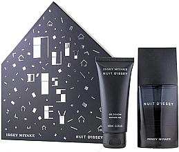 Parfumuri și produse cosmetice Issey Miyake Nuit d'Issey - Set (edt/75ml + sh/gel/100)