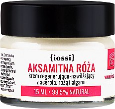 """Parfumuri și produse cosmetice Cremă regenerantă pentru față """"Trandafir"""" - Iossi Regenerating Cream(Mini)"""