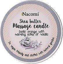 """Parfumuri și produse cosmetice Lumânare și ulei """"Portocală și vanilie"""" - Nacomi Shea Butter Massage Candle"""