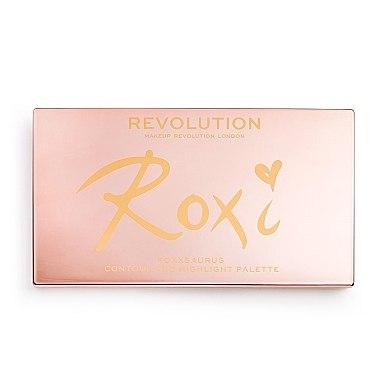 Paletă de machiaj - Makeup Revolution Roxxsaurus Roxi Highlight & Contour Palette — Imagine N4