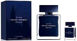 Parfumuri și produse cosmetice Narciso Rodriguez For Him Bleu Noir - Set (edt/100ml + edt/10ml)
