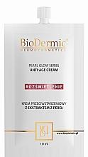 Parfumuri și produse cosmetice Cremă anti-îmbătrânire pentru față - BioDermic Pearl Glow Anti-Age Cream (mini)