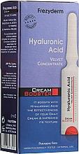 Parfumuri și produse cosmetice Concentrat-booster cu acid hialuronic - Frezyderm Hyaluronic Acid Cream Booster