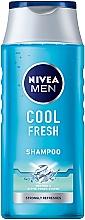 Parfumuri și produse cosmetice Șampon pentru bărbați - Nivea For Men Cool Fresh Mentol Shampoo