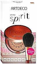 Parfumuri și produse cosmetice Set - Artdeco Ethno Spirit (powder/9g + brush)