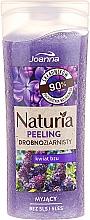 """Parfumuri și produse cosmetice Peeling pentru corp """"Flori de liliac"""" - Joanna Naturia Peeling"""