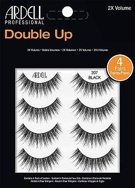 Накладные ресницы - Ardell Double Up 2X Volume 207 Black — фото N1