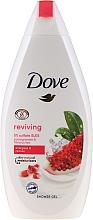 "Parfumuri și produse cosmetice Gel de duș ""Rodie și hibiscus"" - Dove Go Fresh Reviving Shower Gel"