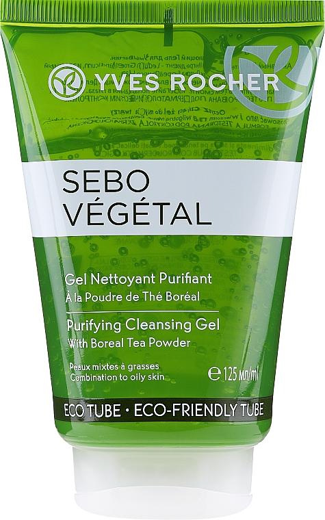 Gel de curățare pentru față - Yves Rocher Sebo Vegetal Cleansing Face Wash Gel