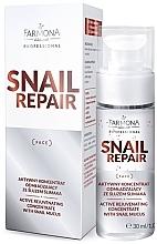 Parfumuri și produse cosmetice Concentrat anti-îmbătrânire cu mucus de melc pentru față - Farmona Professional Snail Repair Active Rejuvenating Concentrate With Snail Mucus