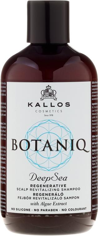 Șampon regenerant pentru scalp și păr - Kallos Cosmetics Botaniq Deep Sea Shampoo — Imagine N1