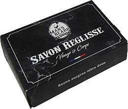 Parfumuri și produse cosmetice Săpun de curățare pentru față și corp - Man's Beard Savon Surgras Reglisse