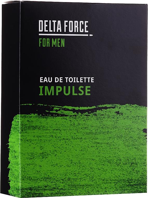Pharma CF Delta Force For Men Impulse - Apă de toaletă  — Imagine N1