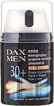 Cremă energizantă împotriva semnelor de oboseală - DAX Men Full Energy Energizing Cream 30+ — Imagine N1