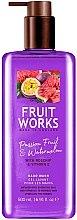 """Parfumuri și produse cosmetice Săpun """"Maracuya și pepene verde"""" - Grace Cole Fruit Works Hand Wash Passion Fruit & Watermelon"""
