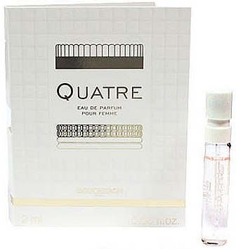 Boucheron Quatre Boucheron Pour Femme - Apă de parfum (mostră)