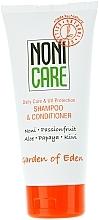 Parfumuri și produse cosmetice Șampon balsam de păr hidratant - Nonicare Garden Of Eden Shampoo & Conditioner