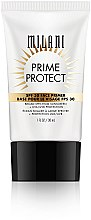 Parfumuri și produse cosmetice Primer cu protecție SPF 30 - Milani SPF 30 Prime Protect SPF 30 Face Primer