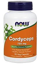 Parfumuri și produse cosmetice Supliment natural Cordyceps, 90 buc. - Now Foods Cordyceps