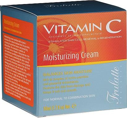 Cremă hidratantă cu vitamina C pentru față - Frulatte Vitamin C Moisturizing Cream