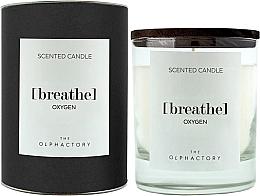 Parfumuri și produse cosmetice Lumânare parfumată - Ambientair The Olphactory Black Design Breathe Oxygen