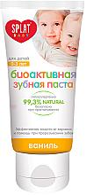 """Parfumuri și produse cosmetice Pastă de dinți pentru copii """"Vanilie"""" - Splat Baby 0-3"""