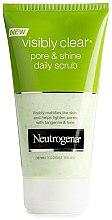 Parfumuri și produse cosmetice Scrub pentru față - Neutrogena Visibly Clear Pore And Shine Daily Scrub