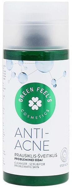 Scrub pentru tenul cu probleme - Green Feel's Anti Acne Cleancer Scrub