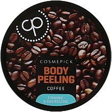 Peeling de zahăr cu extract de cafea pentru corp - Cosmepick Body Peeling Coffee — Imagine N1