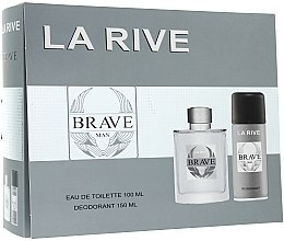 La Rive Brave Man - Set (edt/100ml + deo/150ml) — Imagine N1