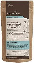 Parfumuri și produse cosmetice Scrub de cedru uscat și sare pentru pielea grasă și cu probleme - Botavikos