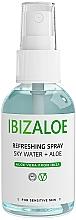 Parfumuri și produse cosmetice Apă revigorantă pentru corp și față - Ibizaloe Sky Water Aloe Vera