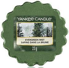 Parfumuri și produse cosmetice Ceară aromată - Yankee Candle Evergreen Mist Wax Melts