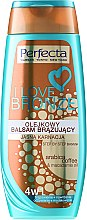 Parfumuri și produse cosmetice Balsam bronzant pentru corp, luminos - Perfecta I Love Bronze Balm
